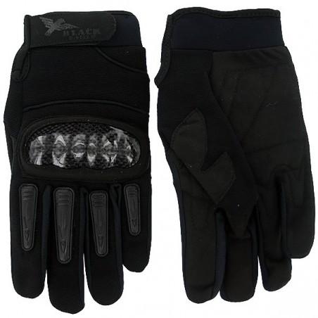 Airsoft Mil Star Black Gloves BE XL