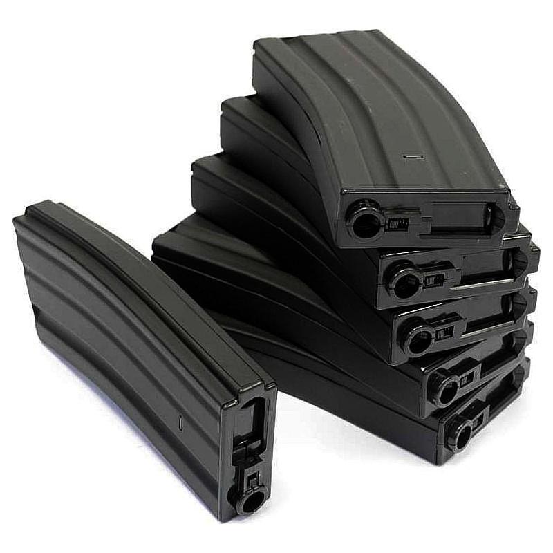185149Chargeur metal 6mm pour M4 300BB's pack de 6