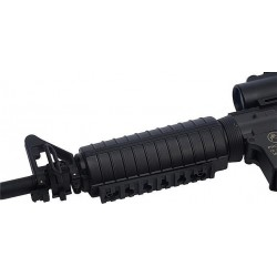 Rail (x2) Picatinny avec vis pour gardemain M4/M733/M16A2