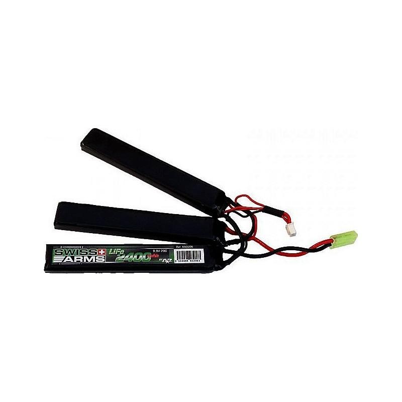 SWISS ARMS LiFe 9,9V 2.400mAh 20C Stick Triple