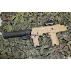 ASG MP9 GBBR CUSTOM - TAN