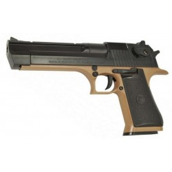 Red Tip DESERT EAGLE 50AE corps Tan/culasse Noir 80BB's