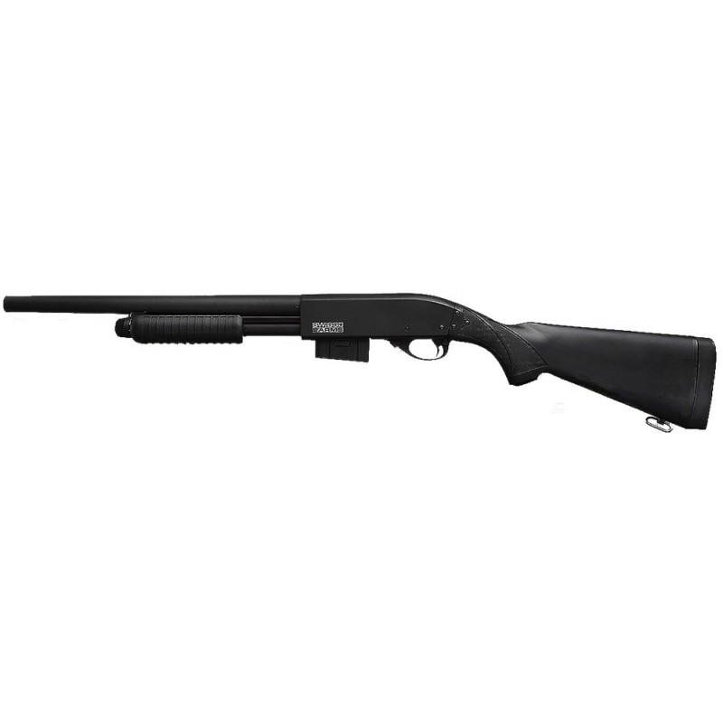 SWISS ARMS Shotgun Tout metal Full Stock Noir