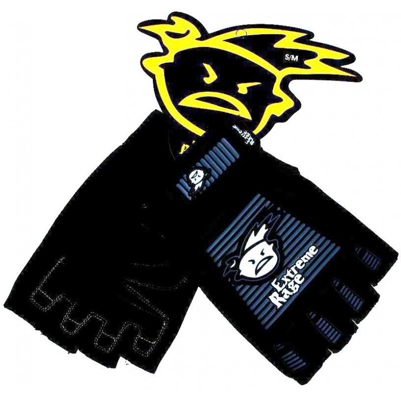 Extreme Rage Gloves Fingerless
