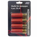 Cartoucges for Shotguns, 4 pc. 30 rd ASG 18555