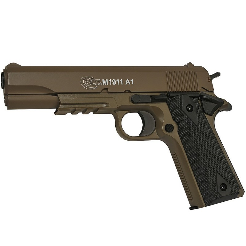 Colt 1911 Culasse Metal Manuel Dark Earth 13BB