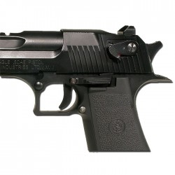 DESERT EAGLE Co2 6mm C. Mobile Auto 21BB's (chargeur court)