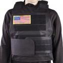 Black Hawk Down Body Tactical Armor Vest Plate Carrier Black