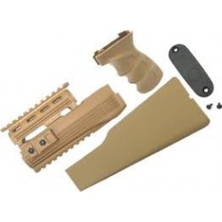 RAILED HANDGUARD TACTICAL GRIP & STOCK FOR MARUI AK-47