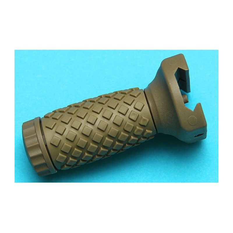 G&P RIS Rubber Foregrip (Short, Sand)