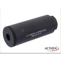 S.T. Simth Suppressor Silencer 14mm NOIR