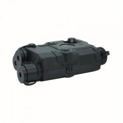 PEQ-15 Battery BOX+Red laser(Black)