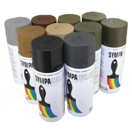 Bombe de peinture camouflage 400ml sable beige mat sand