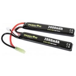Batterie PHANTOM Li-Po 7,4V 2000mah 2 sitcks 20C