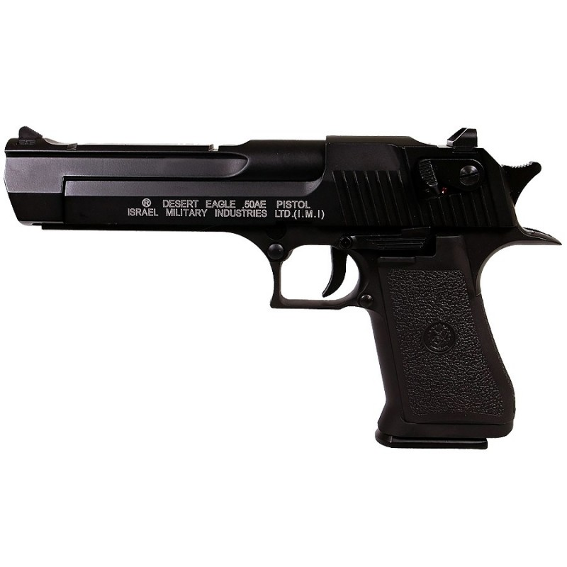 DESERT EAGLE blowbac SEMI AUTO noir CO2 chargeur court