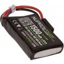 BATTERIE MICRO LIPO POWER 7.4 V 1500 mah 20 CPEQ NUPROL