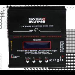 Chargeur SWISS ARMS multi batteries Professionnel (Modèle d'expo)