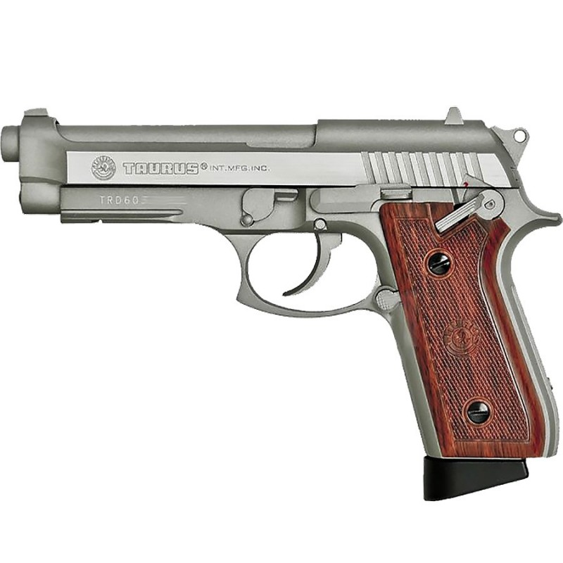 TAURUS PT92 INOX SEMI ET FULL Co2 GBB tout metal 26 BB's