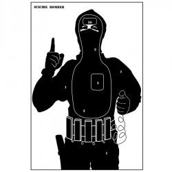 PAPER TARGET TERRORIST 40x60