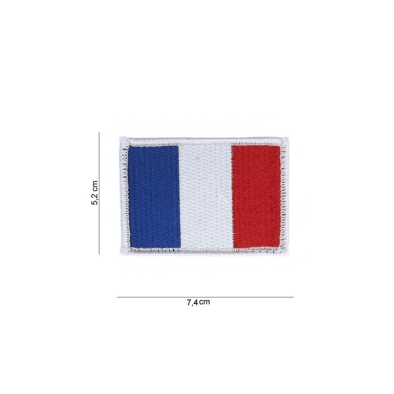 Patch France flag with velcro