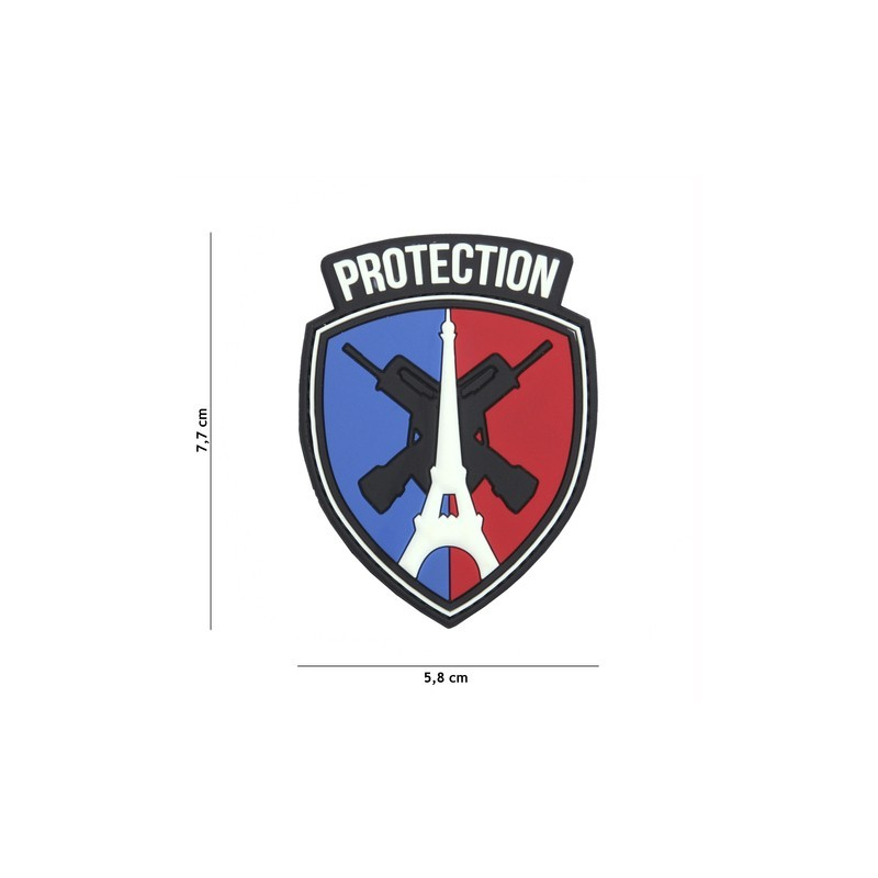 Patch 3D PVC Protection