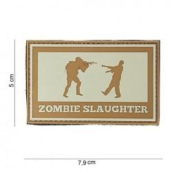 """Patch 3D PVC """" Zombie slaughter """""""