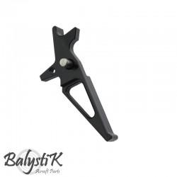 Balystik détente CNC aluminium pour M4 AEG (noir)