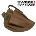 Holster SWISS ARMS de ceinture TAN/C40