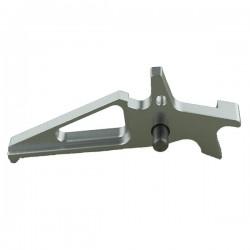 Balystik détente CNC aluminium pour M4 AEG (Silver)