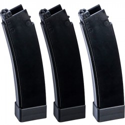 ASG 17844 Magazine airsoft AEG Scorpion EVO 3 - A1, 75rds, 3-pack