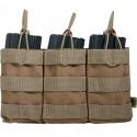 PORTE CHARGEURS TRIPLE M4 TAN DELTA TACTICS