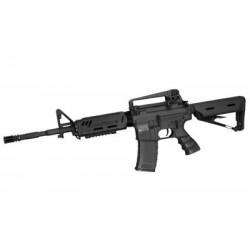 *Airsoftrifle, AEG, SLV, BK, Carbine MX18