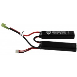 3000mah 7.4V 30C lipo battery nunchuck type with Small tamiya