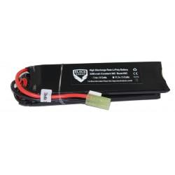 3300mah 7.4V 30C lipo battery nunchuck type with Small tamiya