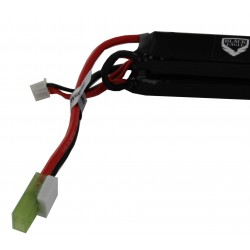2600mah 7.4V 30C lipo battery nunchuck type with small tamiya