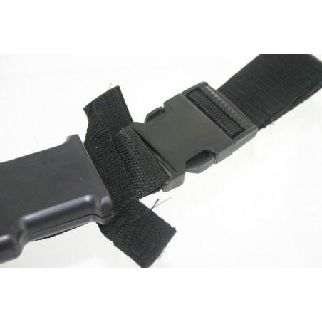 Couteau Combat Plastique Black Eagle