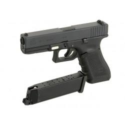 R17 Gen4, metal slide, GBB, black