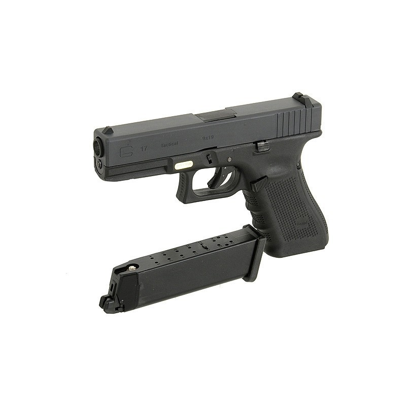 G17 Gen4, metal slide, GBB, black
