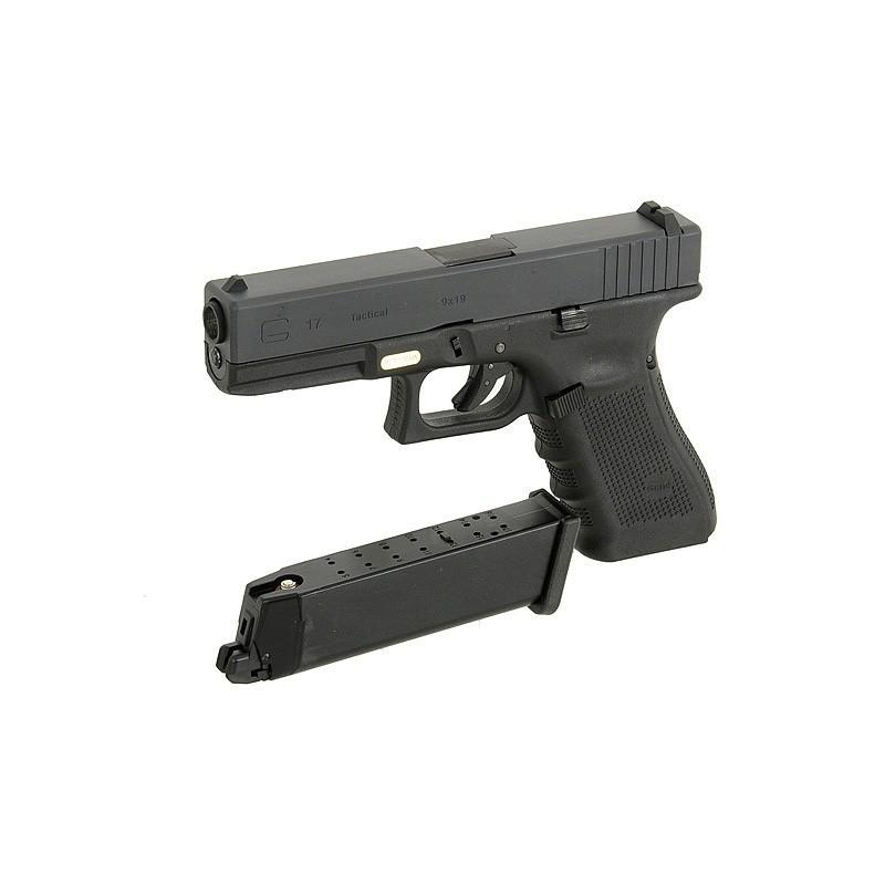 G17 Gen4, metal slide, GBB, black