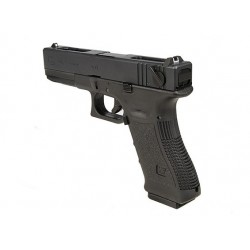 G18C Gen3, metal slide, GBB, BLACK