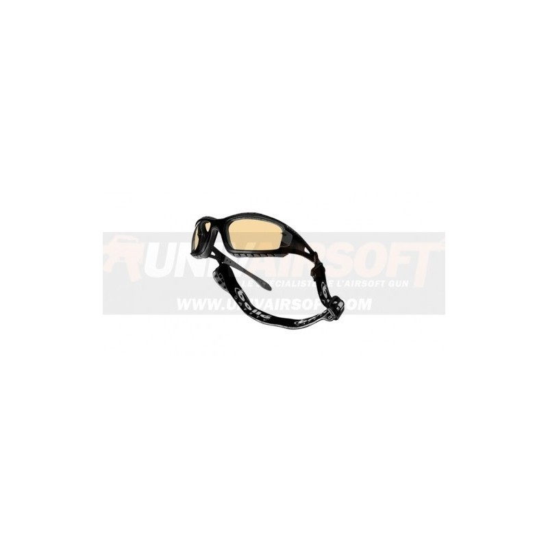 Yellow Protection Goggle Tracker