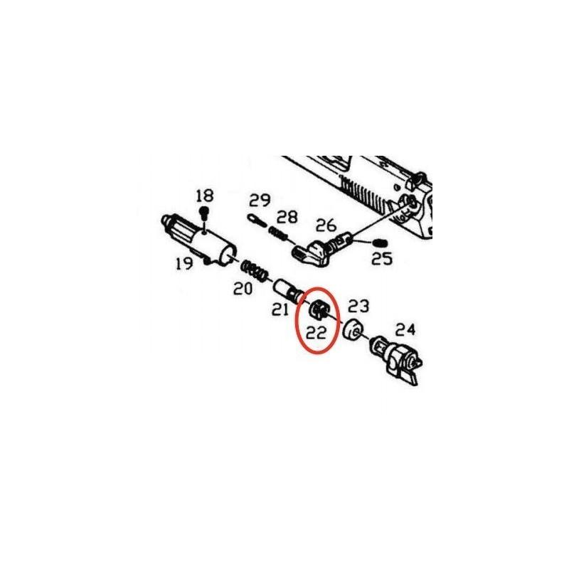 Bloc Cylindre de Valve pour KJW / ASG M9