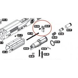 Cache Cylindre pour VFC / Cybergun FNX-45 01-10 +01-11