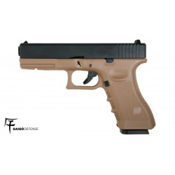 SAIGO 17 GAS BLOWBACK METAL SLIDE TAN