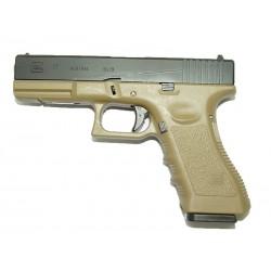 pistolet G17 GBB ( couleur tan )