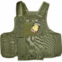 Veste SWISS ARMS Tactique CRS vert olive