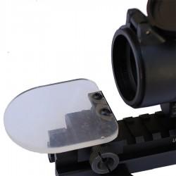 Verres de protection basculant avec support pour lunette de visee