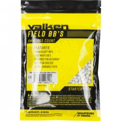 Airsoft : BBs - Valken Field 0.20g-1000ct-White