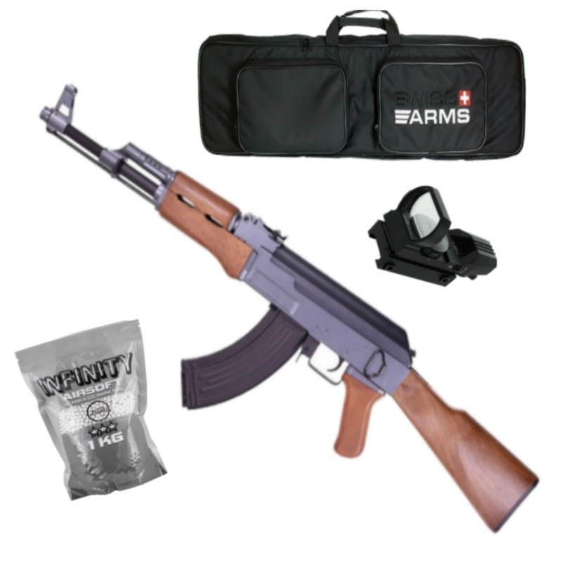 Pack JG AK47 0506MG AEG ABS