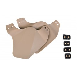 COVER LATERAL POUR CASQUE TAN FMA